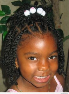 Braids Hairstyle For Black Kids