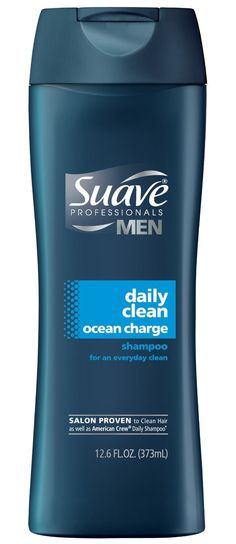 Suave Professionals Mens Shampoo, Daily Clean Ocean Charge, 12.6 oz ** Click on the image for additional details.