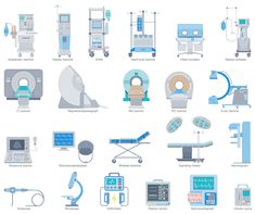 Design elements healthcare anatomy business processes design elements healthcare equipment ccuart Images