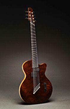 A Jeff Traugott custom made guitar for Charlie Hunter