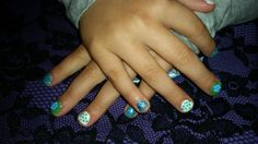Blue and green :)