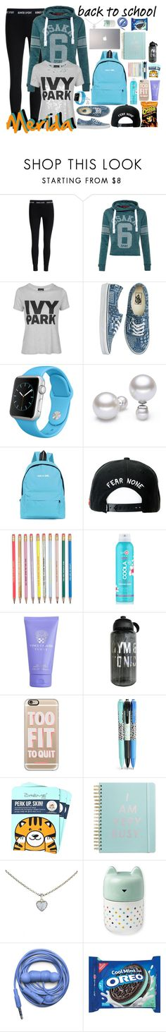 """""""Merida"""" by bambolinadicarta-1 ❤ liked on Polyvore featuring Bonds, Superdry, Topshop, Vans, Apple, Trukfit, COOLA Suncare, Vince Camuto, Casetify and Vera Bradley"""