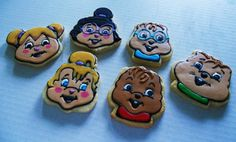 Alvin and the Chipmunks Cookies by SugaRush Desserts in Elkhart, Indiana