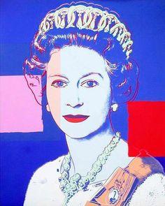 Queen Elizabeth II by Andi Warhohl