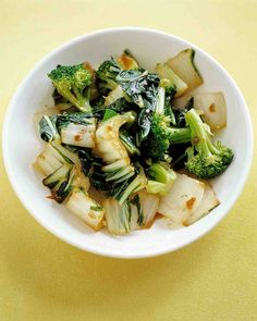 Sauteed Bok Choy and Broccoli Recipe
