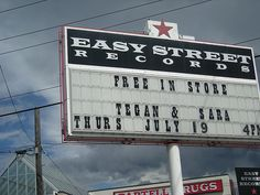 Tegan & Sara @ Easy Street Records, 2007