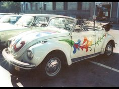 VW Beetle. That's pretty cool, not gonna lie