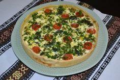 Tarta cu legume si branza Ravioli, Quiche, Latte, Breakfast, Food, Morning Coffee, Essen, Quiches, Meals