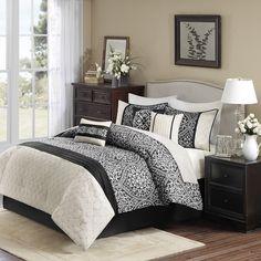 Dover 7 Piece Comforter Set | Wayfair