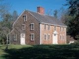 The Winslow Crocker House in Yarmouth Port, Mass.  c. 1780