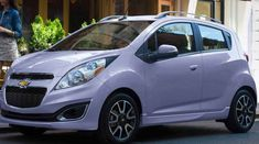 2015 Chevrolet Spark Owners Manual – Increase-digit hp will help the 2015 Chevrolet Spark's fuel economy, yet not its lackluster get-up-and-go. 2013 Chevy Spark, Chevrolet Spark, Chevy Chevrolet, Pink Chevy, Car Hacks, Car Wrap, Future Car, Fuel Economy, Shopping