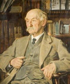 Thomas Hardy (1840–1928) by Reginald Grenville Eves, 1924 | Hardy (2 June 1840 – 11 January 1928) was an English novelist and poet. A Victorian realist in the tradition of George Eliot, he was influenced both in his novels and in his poetry by Romanticism, especially William Wordsworth. Like Charles Dickens, he was highly critical of much in Victorian society, though Hardy focused more on a declining rural society. Madding Crowd (1874), Tess of the d'Urbervilles (1891).