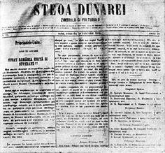 """1 octombrie în istorie: Apare ziarul unionist """"Steaua Dunării"""" la Iaşi sub conducerea lui Mihail Kogălniceanu   Ultima oră Personalized Items"""