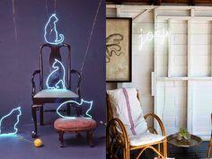 Iluminação - Letreiros Néon na decoração. | Lorena Laurindo