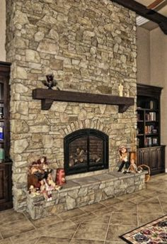 Stone fireplace - comparing which ones I like