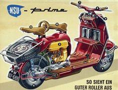 nsu prima moped complete workshop repair manual 1961 1965