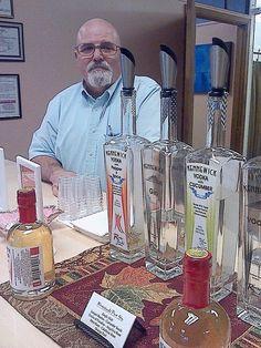 Paul working the tasting room 2014