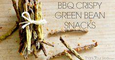Recipe: BBQ Flavor Crispy Green Bean Snacks