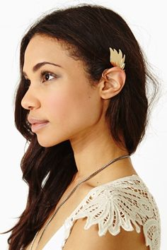 Winged Ear Cuff