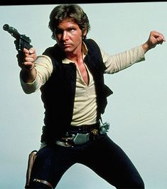 """Hokey religions and ancient weapons are no match for a good blaster at your side, kid."" Hans Solo"