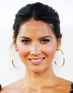 Olivia Munn Formal Updo Hairstyle