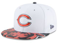 half off 409fa dcae1 Chicago Bears New Era 2017 NFL Draft 59FIFTY Cap 59fifty Hats, Classic Hats,  Nfl