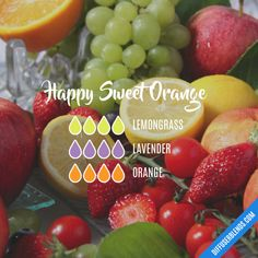 Happy Sweet Orange - Essential Oil Diffuser Blend