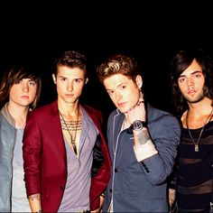 Hot Chelle Rae. Ryan Follese, Jamie Follese, Nash Overstreet, and Ian Keaggy.