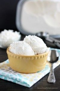 No Churn Coconut Ice Cream - Dessert Now, Dinner Later! ... This may be interesting to try