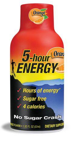#8 My Favorite 5-hour ENERGY® Flavor is Orange