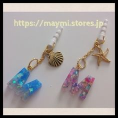 shell&starfish earphonejack A | maymi