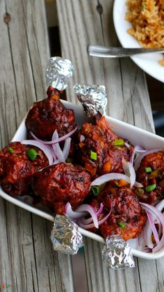 Chicken Lollipop - Spicy World Simple and Easy Recipes by Arpita Chicken Starter Recipes, Indian Chicken Recipes, Yummy Chicken Recipes, Veg Recipes, Spicy Recipes, Indian Food Recipes, Cooking Recipes, Dishes Recipes, Chicken Lollipops Recipe Indian