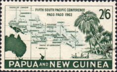 Papua New Guinea 1962 South Pacific Conference Fine Mint SG 38 Scott 169 Other Papua New Guinea Stamps HERE!