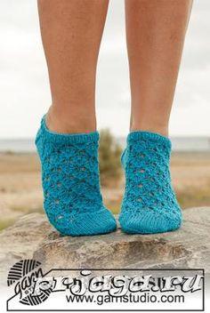 Схема вязания носков спицами