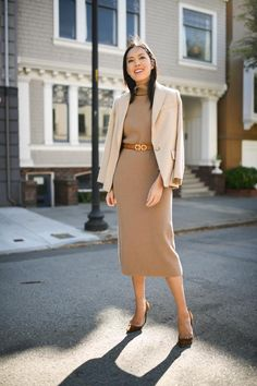 What to Wear to Work: 17 Fall Outfit Ideas for Women - Style Motivation - Winter Outfits for Work Business Professional Outfits, Professional Wear, Business Outfit, Work Fashion, Modest Fashion, Fashion Outfits, Womens Fashion, Workwear Fashion, Fashion Blogs