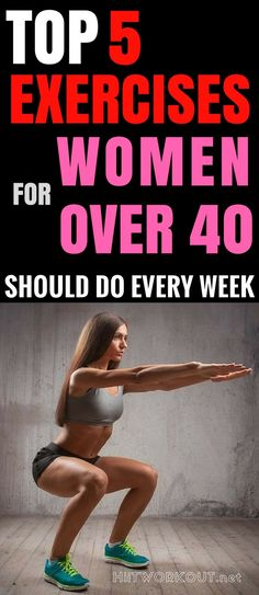 Effective Core Exercises For Women Over 40 Years Old Should Do Every Week. #womensworkout #workout #femalefitness #exercises #homeworkoutplan #weightlossworkout #workoutplan #core