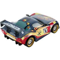 Disney Cars Carbon Racers Miguel Camino Die-Cast Vehicle, Multicolor