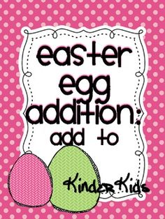 Easter Addition {FREEBIE}