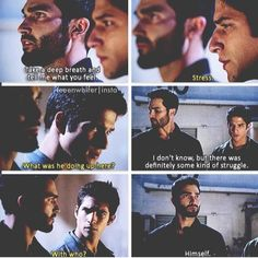 Tyler Hoechlin (Derek Hale) & Tyler Posey (Scott McCall) - Teen Wolf Talking about stiles