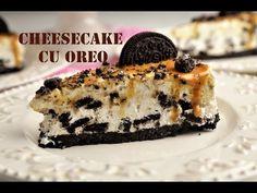 Cheesecake cu Oreo - Retete culinare by Teo& Kitchen Some Recipe, Cookie Desserts, Oreo, Biscuits, Cheesecake, Favorite Recipes, Sweets, Cookies, Kitchen