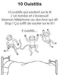 """Résultat de recherche d'images pour """"Comptine 10 petits singes"""""""