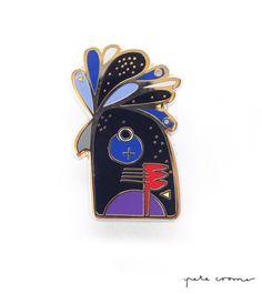 Image of BLACK COCKATOO PIN