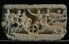 Limestone relief of the Battle of Issos (also known as Battle of Issus), 5 November 333 BCE. between the troops of Alexander the Great BCE) and Darius III of Persia BCE); end of the century. Battle Of Issus, Alexandre Le Grand, Alexander The Great, The 5th Of November, Museum, History, Warfare, Troops, Historia