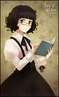 SS2011 Yonka, by meago on deviantART. >> A little Miss Studious... and a bookworm like me! =D