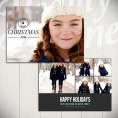 WeihnachtskarteVorlage Voll der Liebe D 5 x von BeautyDivineDesign, $8.00