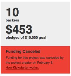 Studying failure: what I learned from a Kickstarter project that failed... badly