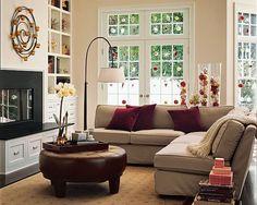 burgundy living room furniture | color: burgundy home | pinterest