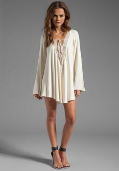 FOR LOVE & LEMONS Dreamer Dress in White at Revolve Clothing - Free Shipping!