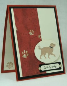 SC424, Sympathy for Tucker by cjzim - Cards and Paper Crafts at Splitcoaststampers