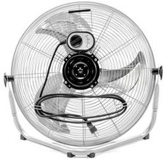 """Xtreme Garage® 20"""" High Velocity Floor Fan High Velocity Fan, Best Ceiling Fans, House Fan, Heating And Cooling, Garage, Home Appliances, Packaging, Floor, Boden"""